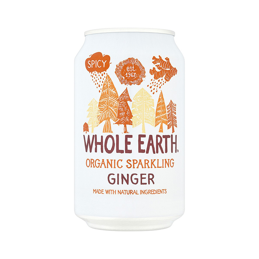 Whole earth organic sparkling drinks