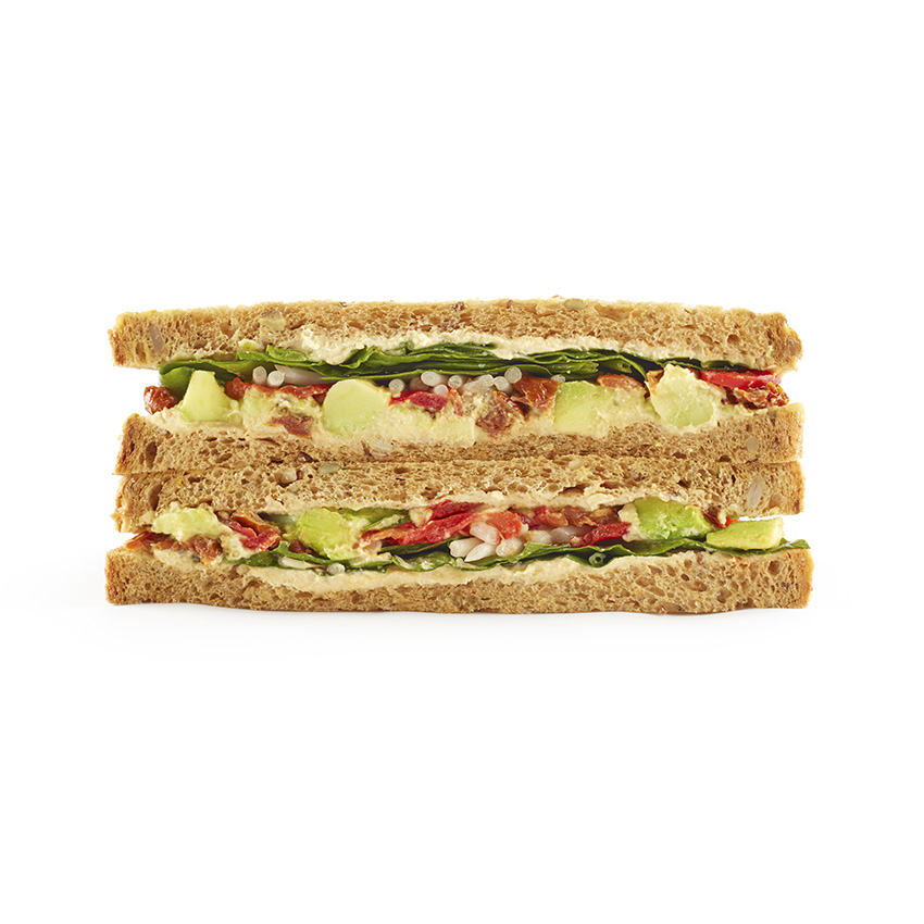 The 5 veggie sandwich