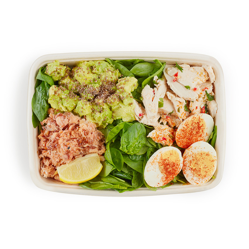 Protein boost salad box