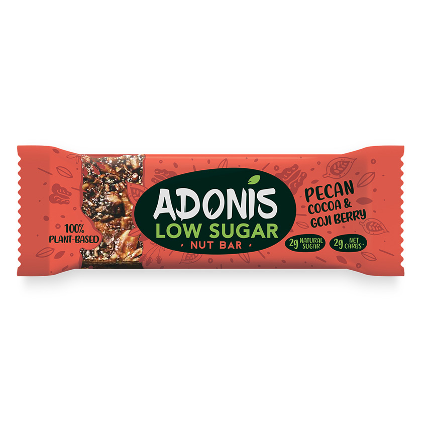 Adonis low sugar nut bars