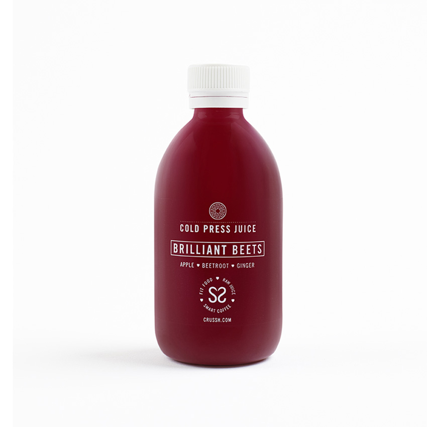 Brilliant beets cold press juice