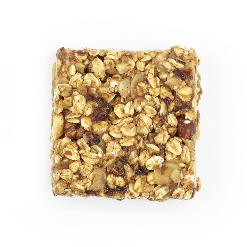 Raw nutty flapjack