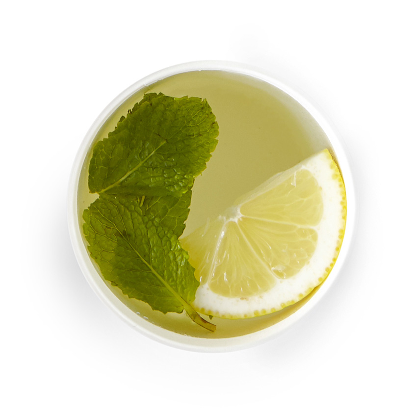 Fresh mint & lemon cleanser