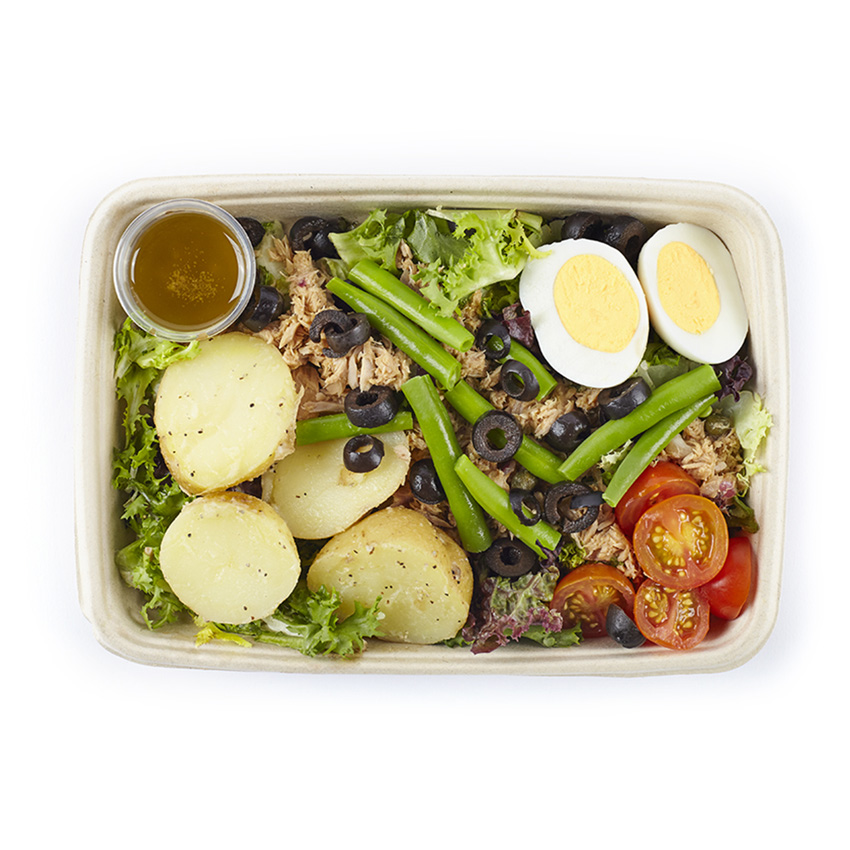 Protein tuna nicoise salad box