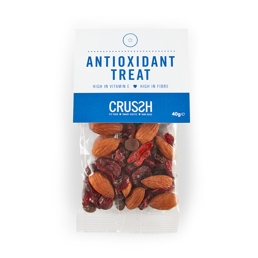 Antioxidant treat snack bag