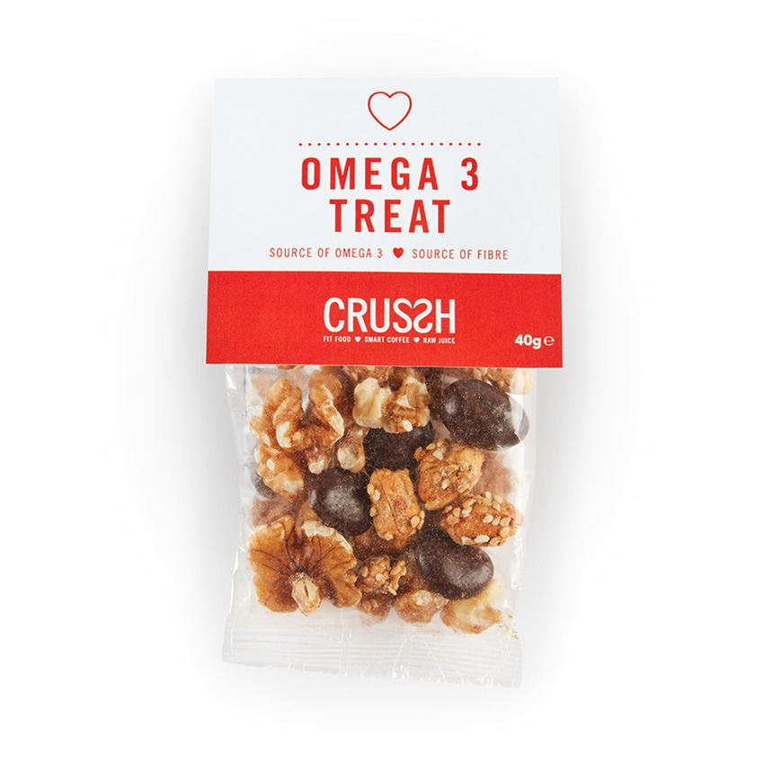 Omega 3 treat snack bag