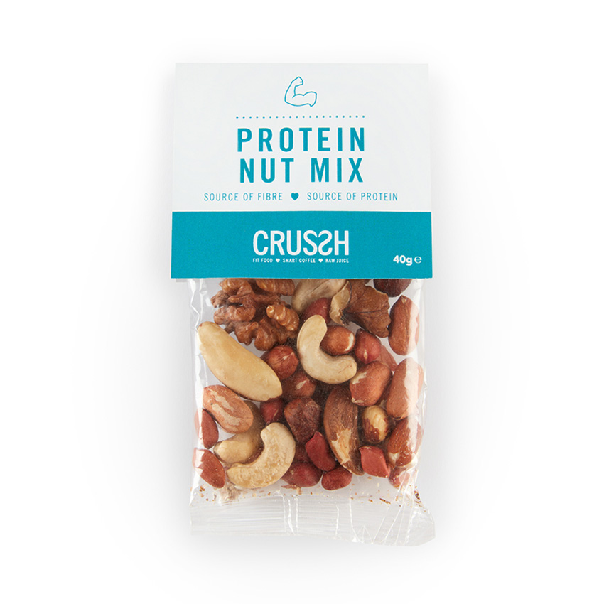 Protein nut mix snack bag