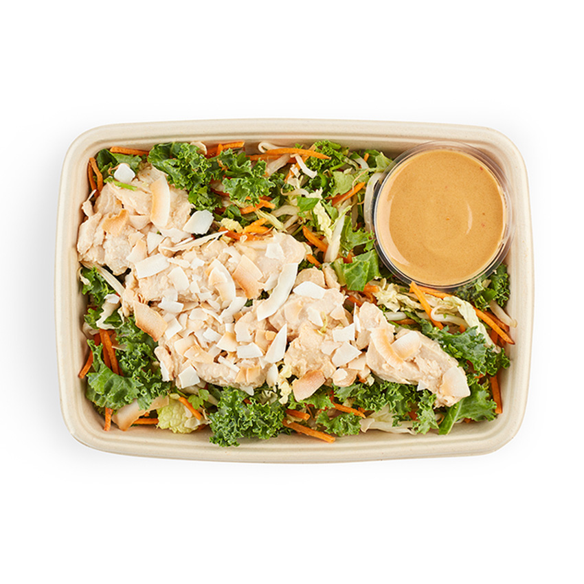 Spicy chicken boost salad box