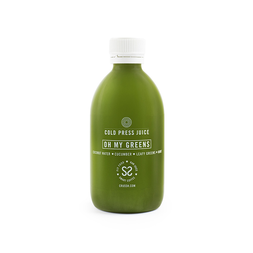 Oh my greens cold press juice