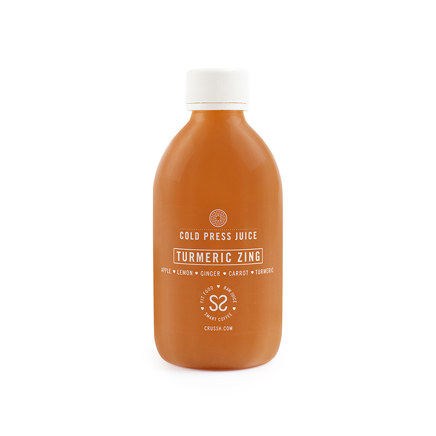 Turmeric zing cold press juice