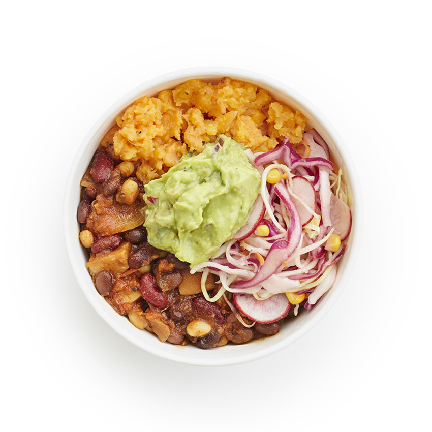 Jackfruit tinga Fit Bowl
