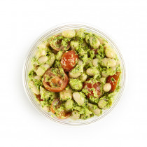 Butter bean, cherry tomato & parsley healthpot