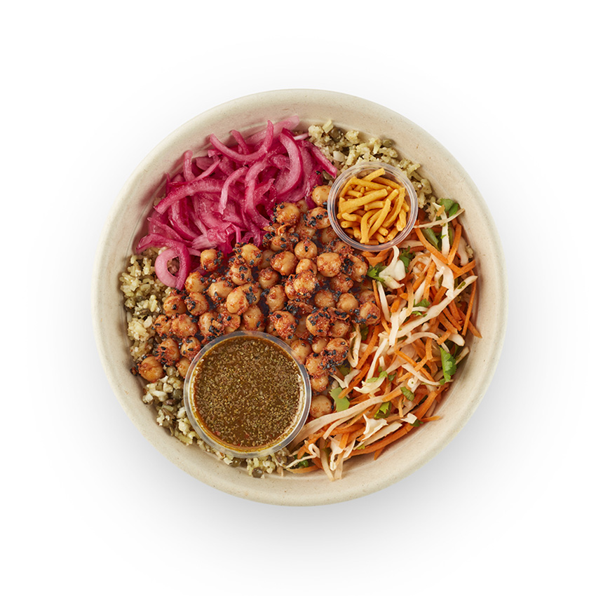 Spiced chickpea fit bowl