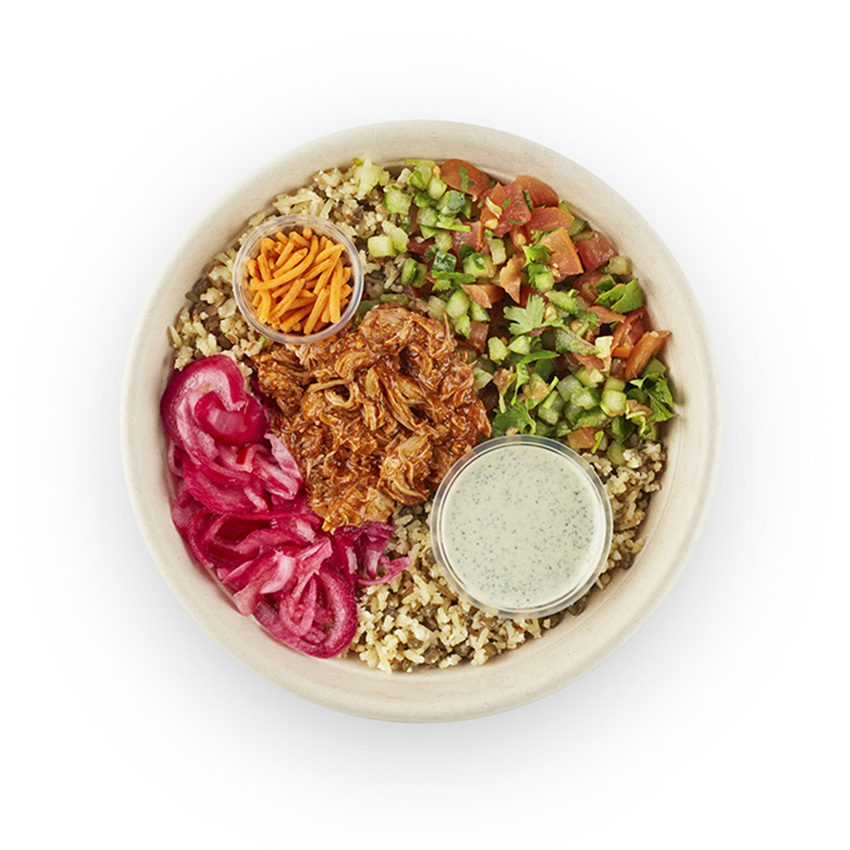 Chicken tikka fit bowl